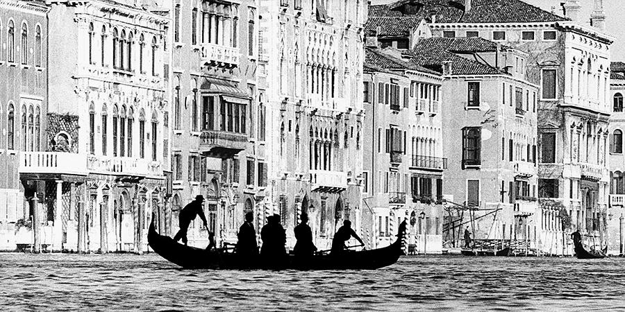 Venice. Gondola at St Tomà, 1959 c.