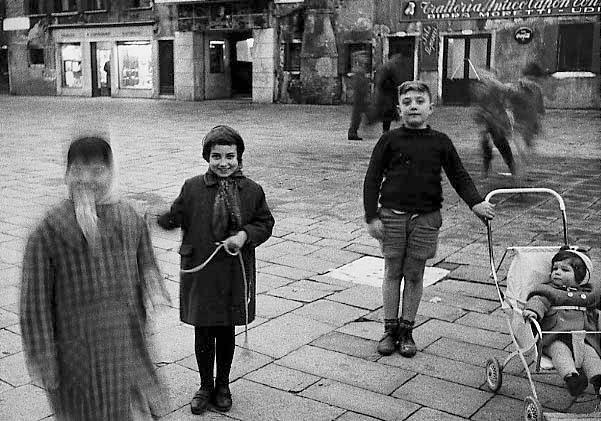 Venice. Campo Santa Margherita, 1958