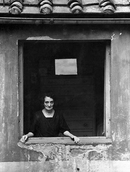 Portrait of Mrs Ada T., 1954