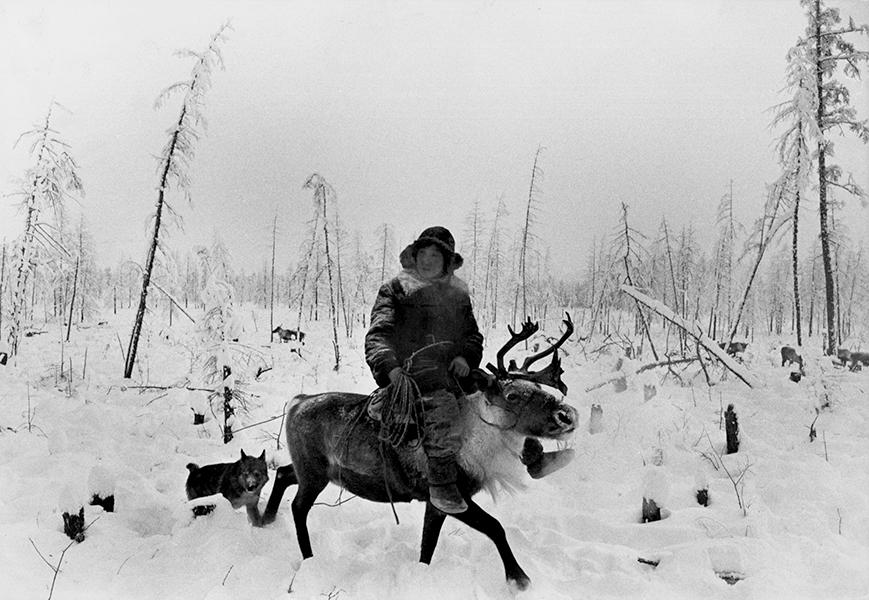 Siberia. 65° degrees below zero, 1964