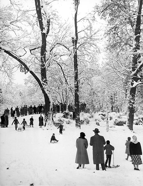 Milan. Public Gardens, 1953 c.