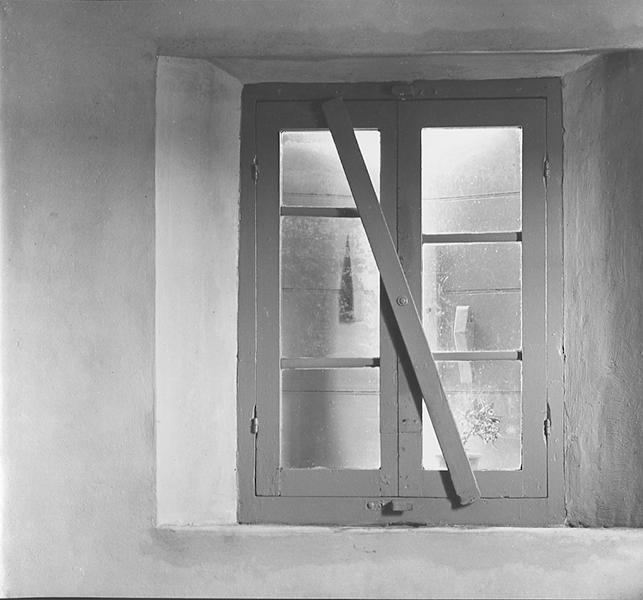 Lidia's window, 1952