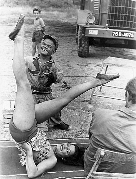 Circus Beauty, 1948 c.