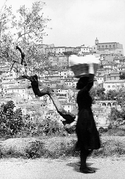Washerwoman, 1956 c.