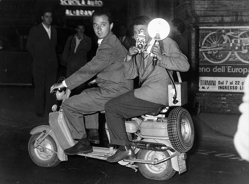Rome. Tazio Secchiaroli and Luciano Mellace, 1952